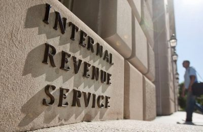 Exterior of an IRS Building